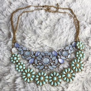 2 FOR 1 💙 Floral Statement Necklaces